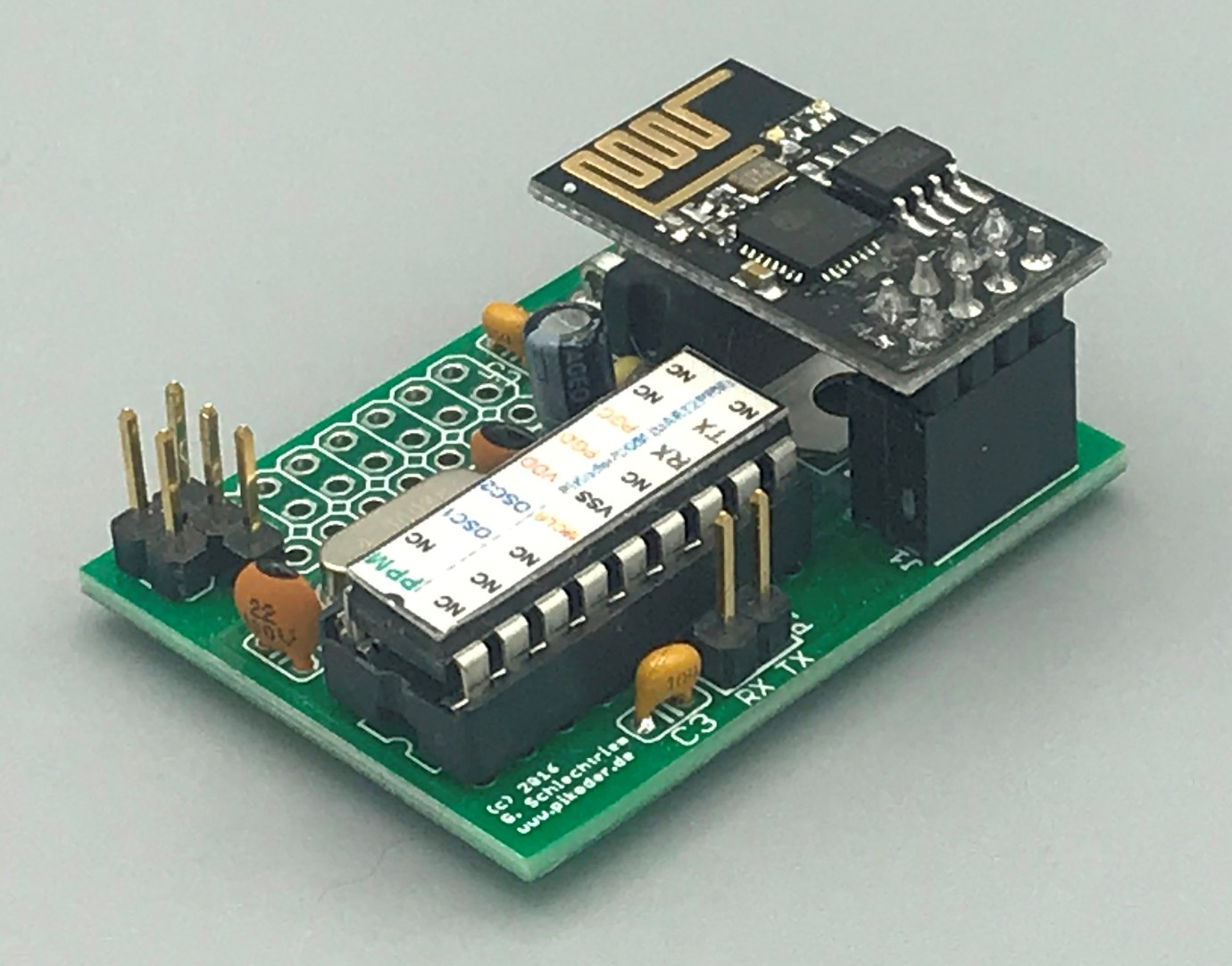 Digital PiKoder radio control